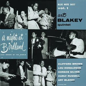 <b>Art Blakey Quintet </b><br><i>A Night At Birdland Volume 2</i>