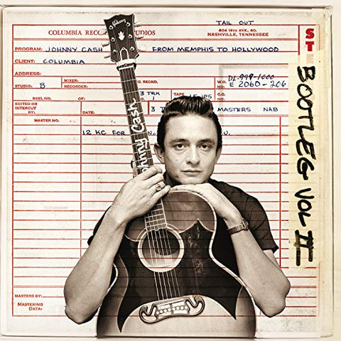 <b>Johnny Cash </b><br><i>Bootleg Vol II: From Memphis To Hollywood [3-lp] [Import] [Colored Vinyl]</i>