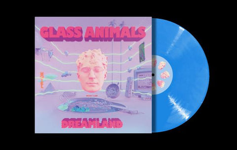 <b>Glass Animals </b><br><i>Dreamland [Indie-Exclusive Blue Vinyl]</i>