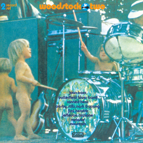 <b>Various Artists </b><br><i>Woodstock Two [2-lp, Half Orange/half Mint Green Vinyl] [Rhino Summer Of 69 Exclusive]</i>