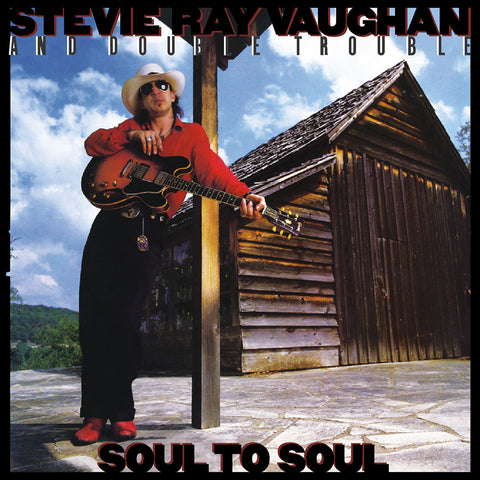 <b>Stevie Ray Vaughan And Double Trouble </b><br><i>Soul To Soul [2LP, 45 RPM]</i>