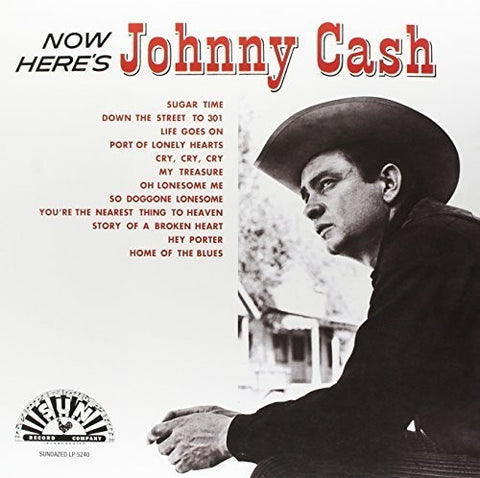 <b>Johnny Cash </b><br><i>Now Here's Johnny Cash</i>