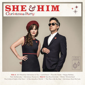 <b>She & Him </b><br><i>Christmas Party</i>