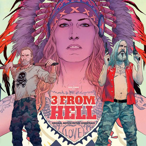 <b>Various </b><br><i>3 From Hell (Original Motion Picture Score) [Colored Vinyl]</i>