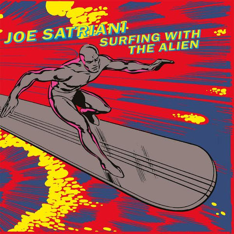 <b>Joe Satriani </b><br><i>Surfing With The Alien [Import] [Silver Vinyl]</i>