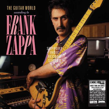 <b>Frank Zappa </b><br><i>The Guitar World According To Frank Zappa [Clear Vinyl]</i>