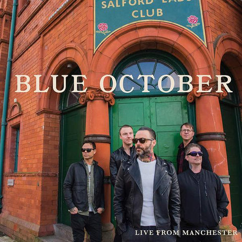 <b>Blue October </b><br><i>Live From Manchester</i>