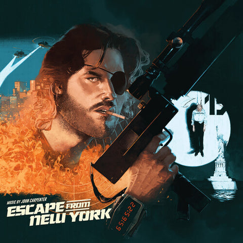 <b>John Carpenter </b><br><i>Escape From New York [SIGNIFICANT CORNER DAMAGED COPIES]</i>