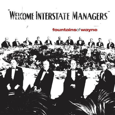 <b>Fountains Of Wayne </b><br><i>Welcome Interstate Managers (Limited 2-lp Natural With Black Swirl Vinyl Edition)</i>