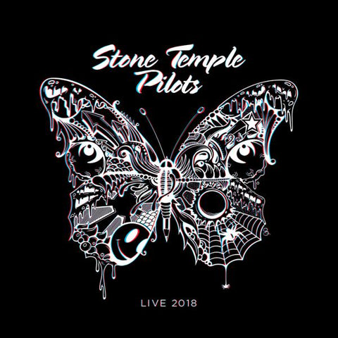 <b>Stone Temple Pilots </b><br><i>Live 2018 [Red Vinyl w/ 3-D Glasses]</i>