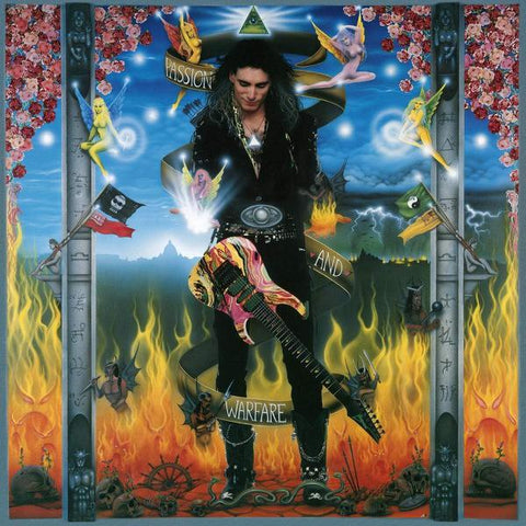 <b>Steve Vai </b><br><i>Passion And Warfare [Import] [Colored Vinyl]</i>