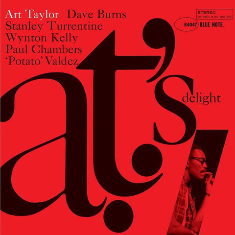 <b>Art Taylor </b><br><i>A.T.'s Delight [Blue Note 80th Anniversary Series]</i>