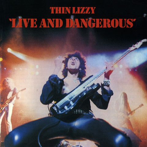<b>Thin Lizzy </b><br><i>Live And Dangerous [2 LP, Translucent Red Vinyl] [ROCKtober 2017 Exclusive]</i>