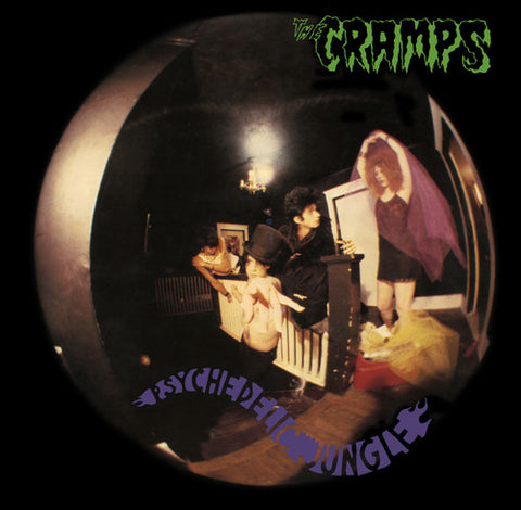 <b>The Cramps </b><br><i>Psychedelic Jungle</i>