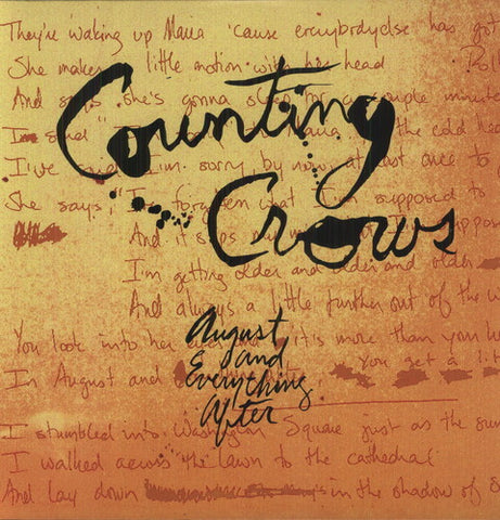 <b>Counting Crows </b><br><i>August And Everything After [2LP, 45 RPM]</i>