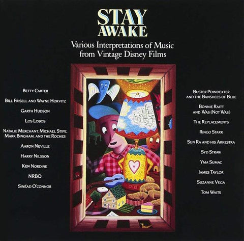 <b>Various Artists </b><br><i>Stay Awake: Various Interpretations Of Music From Vintage Disney Films [2 Lp]</i>