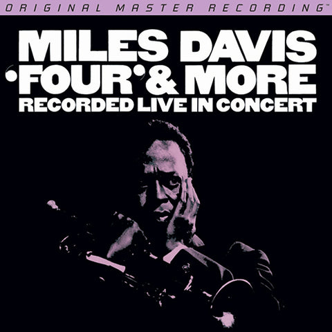 <b>Miles Davis </b><br><i>'Four' & More - Recorded Live In Concert</i>