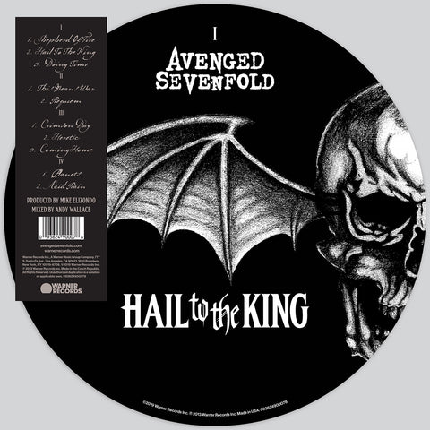 <b>Avenged Sevenfold </b><br><i>Hail To The King [Picture Disc]</i>