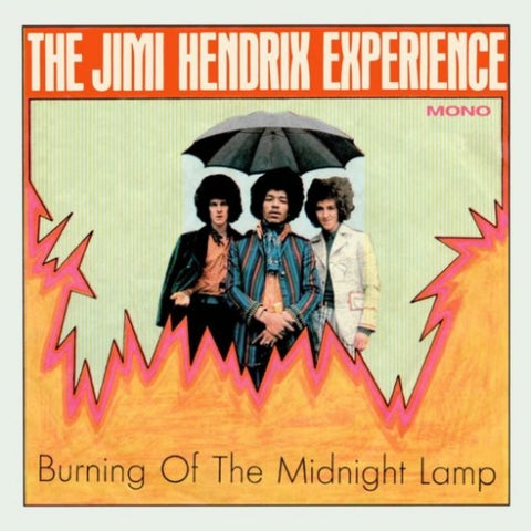 <b>The Jimi Hendrix Experience </b><br><i>Burning Of The Midnight Lamp Mono EP [Transparent Orange Crush Vinyl]</i>