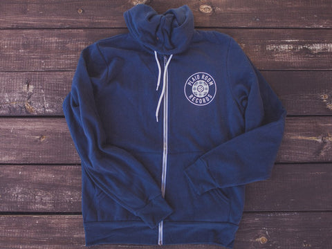 <b>Plaid Room Zip-Up Hoodie</b><br>Navy