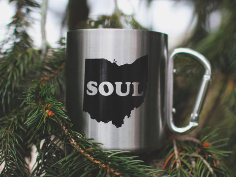 <b>Ohio Soul Camping Mug</b><br>Insulated Aluminum