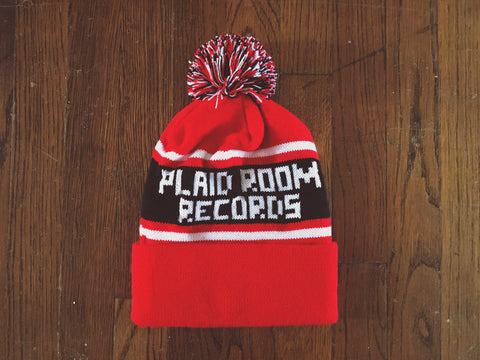 <b>Plaid Room Winter Hat</b><br>Red / Black