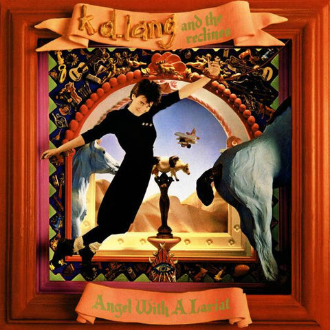 <b>K.D. Lang & The Reclines </b><br><i>Angel With A Lariat [Red Vinyl]</i>