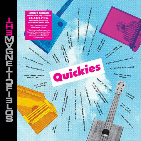 <b>Magnetic Fields </b><br><i>Quickies [Colored Vinyl]</i>