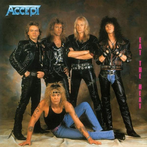 <b>Accept </b><br><i>Eat The Heat [Colored Vinyl] [Import]</i>