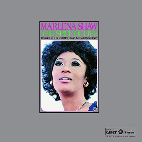 <b>Marlena Shaw </b><br><i>The Spice Of Life</i>