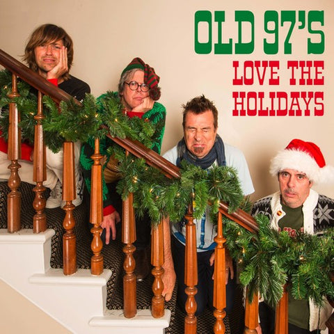 <b>Old 97's </b><br><i>Love The Holidays [Red & White Colored Vinyl]</i>