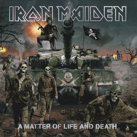 <b>Iron Maiden </b><br><i>A Matter Of Life And Death</i>