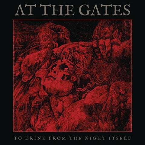 <b>At The Gates </b><br><i>To Drink From The Night Itself [Clear Red Vinyl]</i>