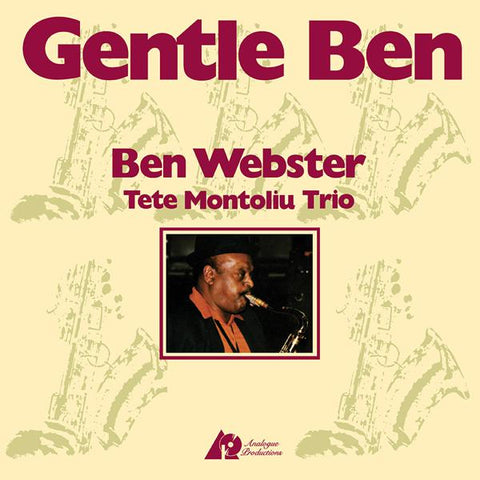 <b>Ben Webster And Tete Montoliu Trio </b><br><i>Gentle Ben [2LP, 45RPM]</i>
