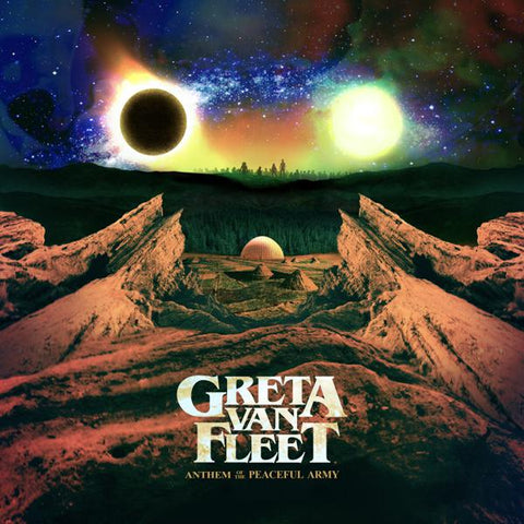 <b>Greta Van Fleet </b><br><i>Anthem Of The Peaceful Army</i>