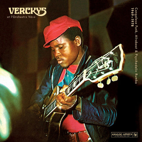 <b>Verckys Et L'Orchestre Veve </b><br><i>Congolese Funk, Afrobeat & Psychedelic Rumba 1969 - 1978</i>