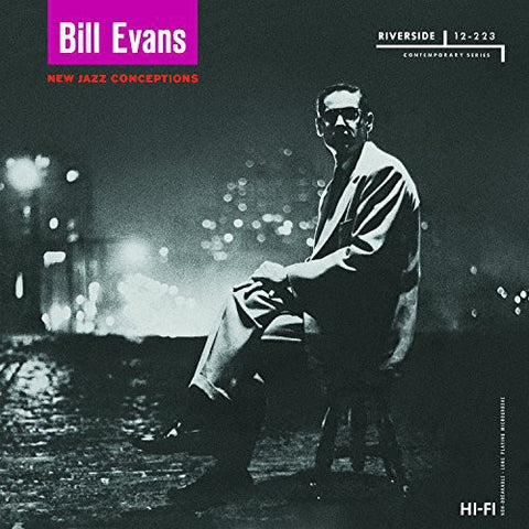 <b>Bill Evans </b><br><i>New Jazz Conceptions</i>