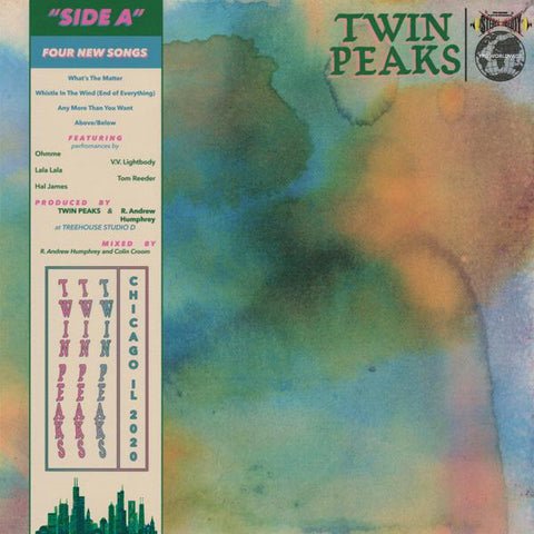 "<b>Twin Peaks </b><br><i>Side A [Ten Bands One Cause 2020] [10"" Vinyl]</i>"