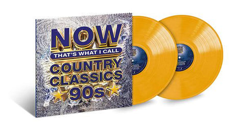 <b>Various </b><br><i>Now That's What I Call Country Classics '90s [Yellow Vinyl]</i>