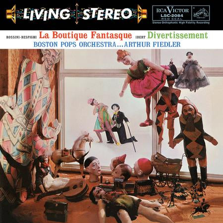 <b>Arthur Fiedler, Boston Pops Orchestra </b><br><i>Rossini-Respighi: La Boutique Fantasque & Ibert: Divertissement</i>