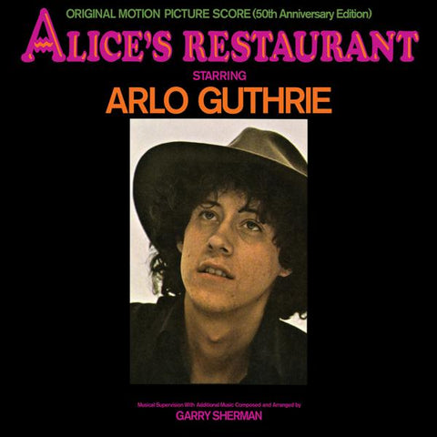 <b>Arlo Guthrie </b><br><i>Alice's Restaurant (Original Motion Picture Soundtrack) (50th Anniversary Edition)</i>