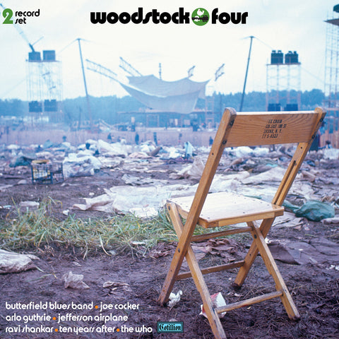 <b>Various Artists </b><br><i>Woodstock Four [2-lp, 180-gram Black Vinyl] [Rhino Summer Of 69 Exclusive]</i>