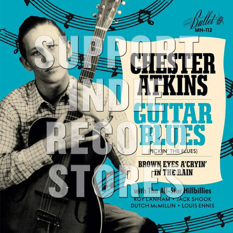 <b>Chet Atkins </b><br><i>Guitar Blues / Brown Eyes A Cryin' In The Rain</i>