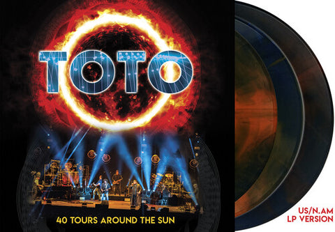 <b>Toto </b><br><i>40 Tours Around The Sun [3LP Colored Vinyl]</i>