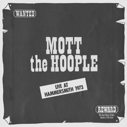 <b>Mott The Hoople </b><br><i>Live At Hammersmith 1973 [Import]</i>