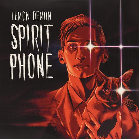 <b>Lemon Demon </b><br><i>Spirit Phone [Gold & Silver w/ Red Splatter Vinyl]</i>