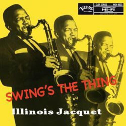 <b>Illinois Jacquet </b><br><i>Swing's The Thing [2LP, 45 RPM]</i>
