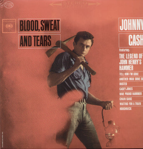 <b>Johnny Cash </b><br><i>Blood, Sweat And Tears</i>
