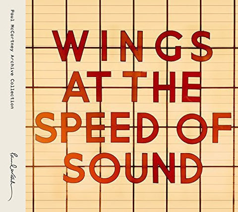 <b>Wings </b><br><i>Wings At The Speed Of Sound [2LP]</i>
