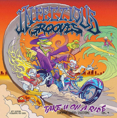 <b>Infectious Grooves </b><br><i>Take You On A Ride</i>